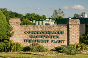 Spirit Services is a partner of Conococheague Wastewater Treatment Plant