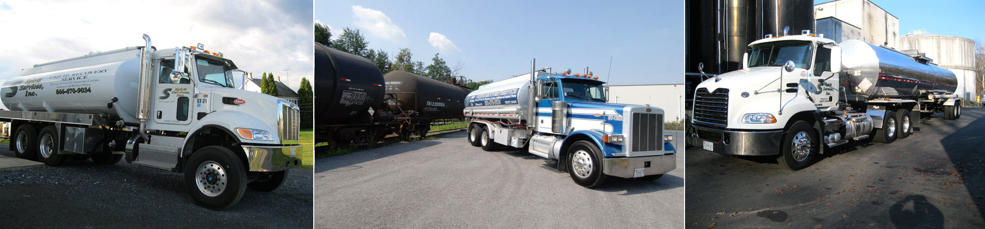Spirit Services provides the Mid-Atlantic & Southeast United States with full service environmental recycling services.  Collection, treatment & sale of used oil, & solids.