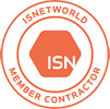 Recognized as a ISNET World Member Contractor