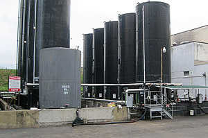 Safe, clean and compliant Maryland oil processing facility.