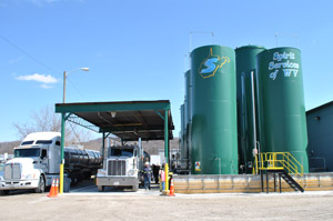 West Virginia oil and non-hazardous waste processing facility.